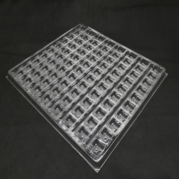 Clear Blister Plastic Hardware Packaging Tray