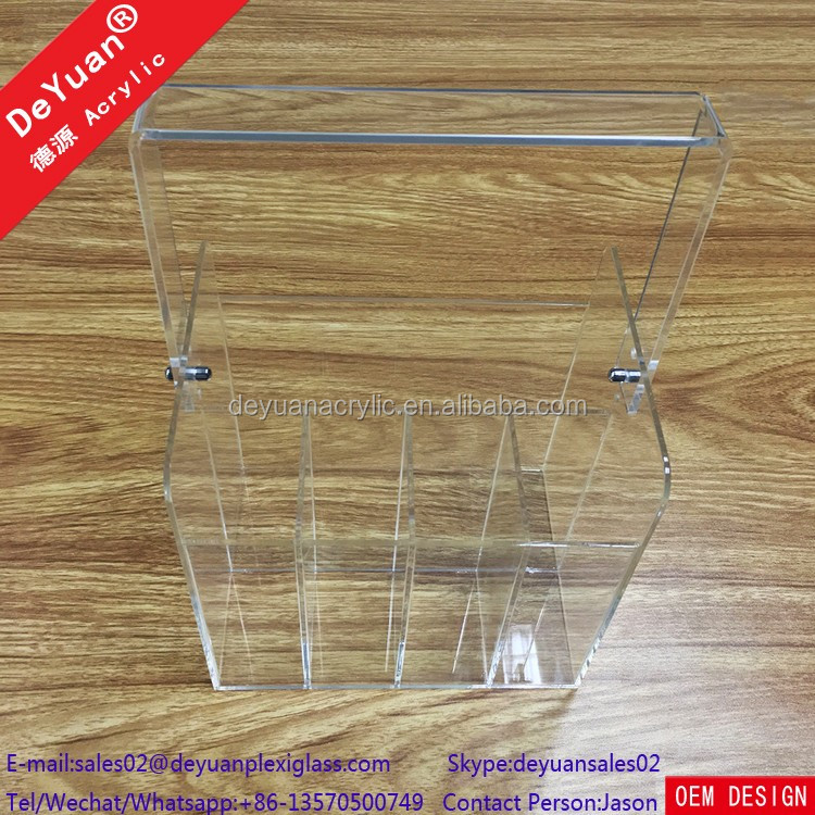 Acrylic Utensil Holder For Spoon And Fork High Definition