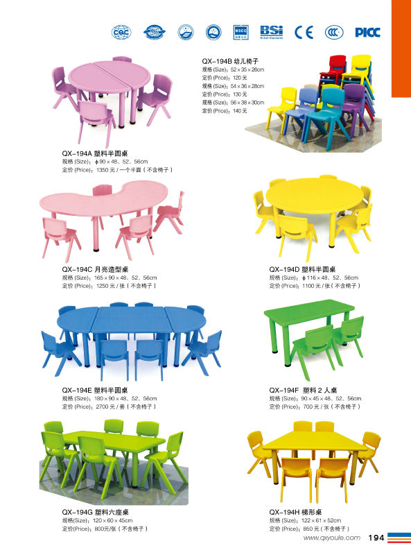 Whole Daycare Supplies Used Preschool Tables And Chairs Kids Table