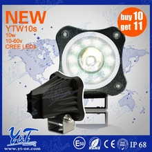 Auto Part 10w mini pocket bike led headlight10w offroad lights for canadaled light bulbs for bikes