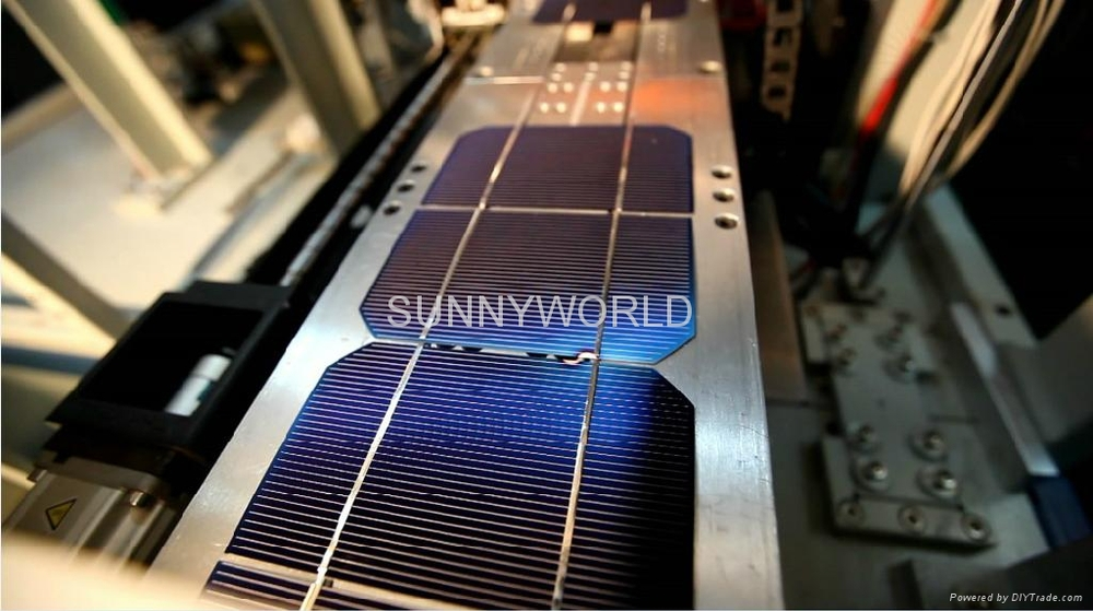 600pcs Per Hour High Performance Solar Panel Manufacturing