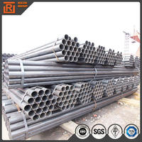 Light black carbon pipe large diameter astm a53 b erw black steel pipe inside threaded steel pipes