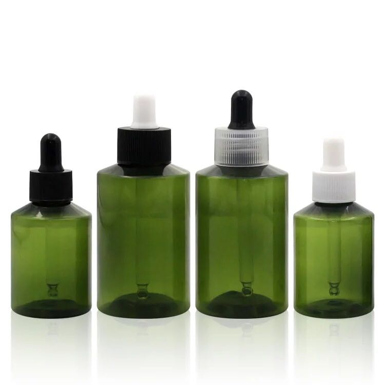 packing bottle green 10ml glass dropper bottle with tamper proof dropper cap for essential oil
