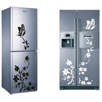 Refrigerator Sticker Pattern Wall Art Stickers Home Decor Removable Mural Wallpaper Decal Stickers