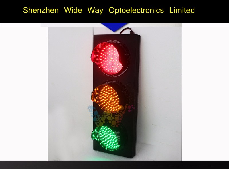 Mini 200mm 3 Aspects Traffic lights for School Teaching Toy Traffic Light on Sale