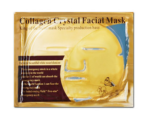 China High Quality Private Label Crystal Collagen Pure 24k Gold Facial Mask face care