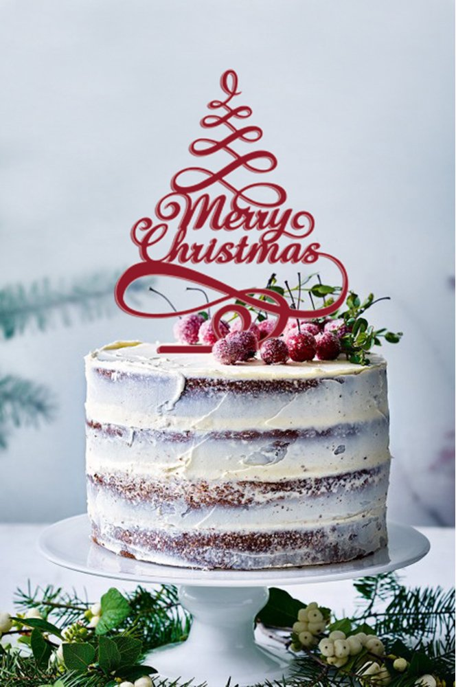 Cheap Christmas Cake Decorations To Make Find Christmas Cake