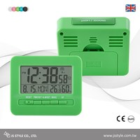 MSF Calibrate Alarm Snooze Function Radio Controlled Clock Digital With LED Backlight