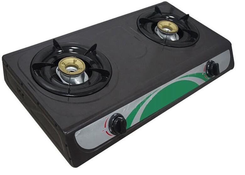 Superior Double Burner Best Price Freestanding Table Top Gas Cooker, Indoor Gas Stove