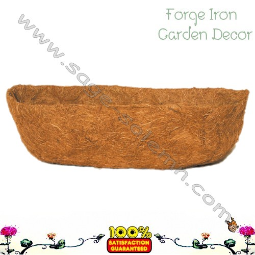 Coco liner for Wall trough basket