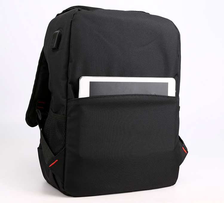 Wholesale black high school backpack new casual outdoor school bag