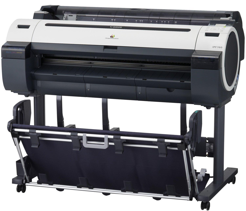 Canon imagePROGRAF iPF760 Inkjet Large Format Printer - 36 - Color