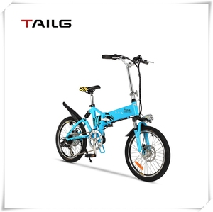 lithium-ion battery 36V 250W folding electric bike