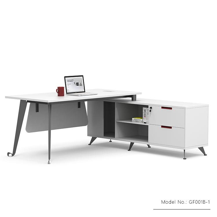 L Shaped Computer Desk Modern Office Furniture Desk High Tech