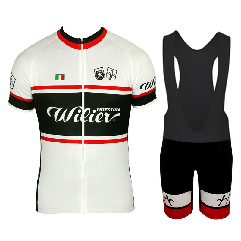 174feb16e Get Quotations · 2015 WILIER Cycling Jerseys Roupa Ciclismo Quick-Dry Lycra  GEL Pad Race MTB Bike