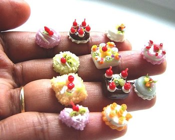 Miniature Cake 1 Cm Size Buy Doll House Cake Dollhouse