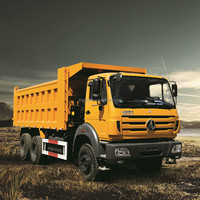 Beiben 6x4 340hp Heavy Duty Dump Trucks Tipper Trucks for sale