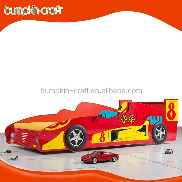 Supreme F1 Racing Red car bed 2015 main product boys furniture