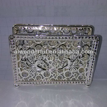 2015 fancy silver plated napkin holder tableware sets SS352 & 2015 Fancy Silver Plated Napkin Holder Tableware Sets Ss352 - Buy ...