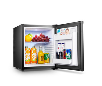 Low noise mini bar fridges for hotel, hotel minibar refrigerator 28l