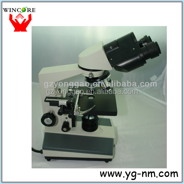 1600X high resolution Binocular Microscope for animal semen