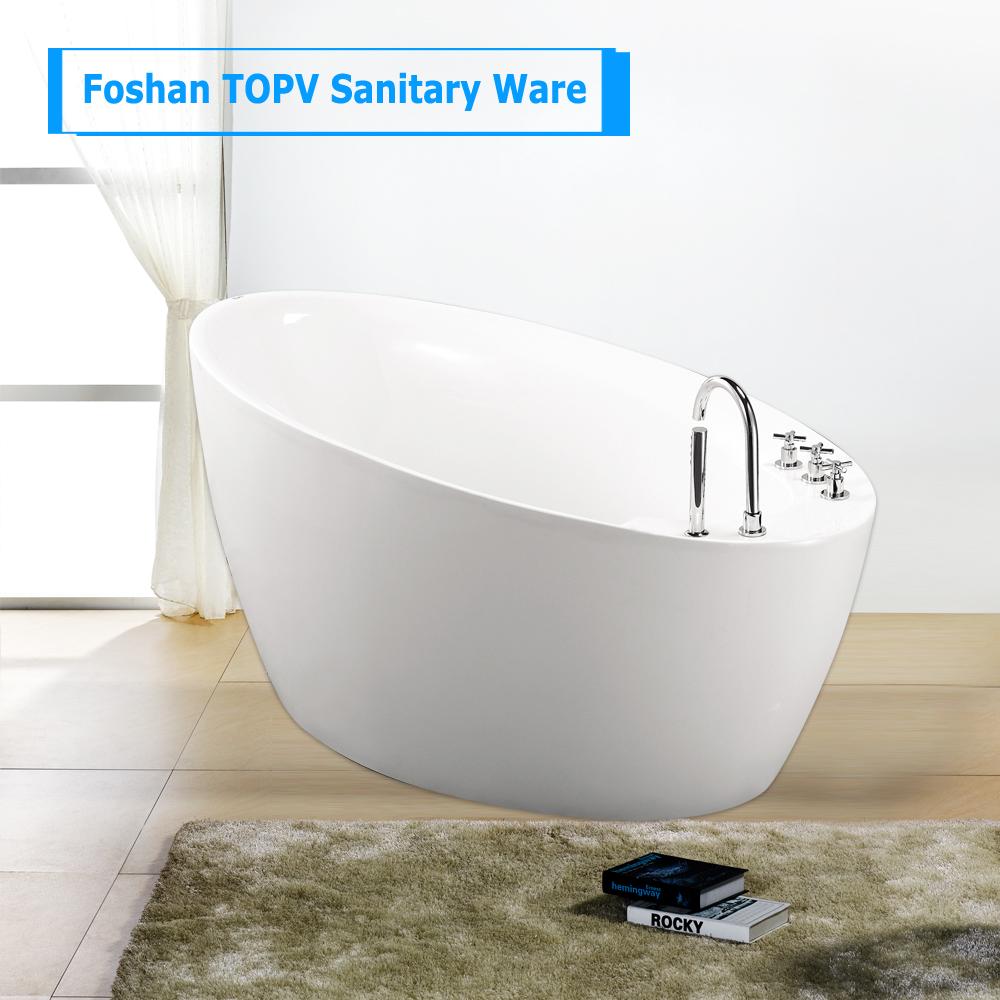 Fiberglass Bathtub. Image Of Nice Acrylic Vs Fiberglass Tub With ...