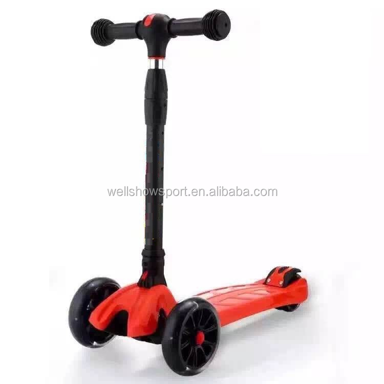 Wellshow Sport New Folding 4 Wheel Kids Scooter Micr kick scooter