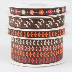 medal head band camouflage mothers day printed ribbon