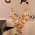 SPX5397 חדש 2014 אופנה בוהמית חרוזים שרשרות אופנה שרשראות לנשים 2014 collares אביזרי תכשיטי גוף