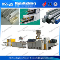 PVC Plastic Electrical Cable Trays and Trunking Extrusion Machine Manufacturer