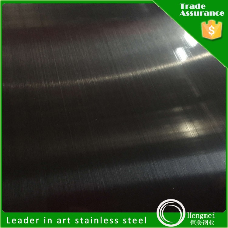 Wire Coils 201 304 Titanium Black Stainless Steel Sheet Hairline ...