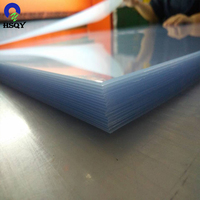 1.5mm Clear PVC Rigid Sheet PVC Plastic Panel