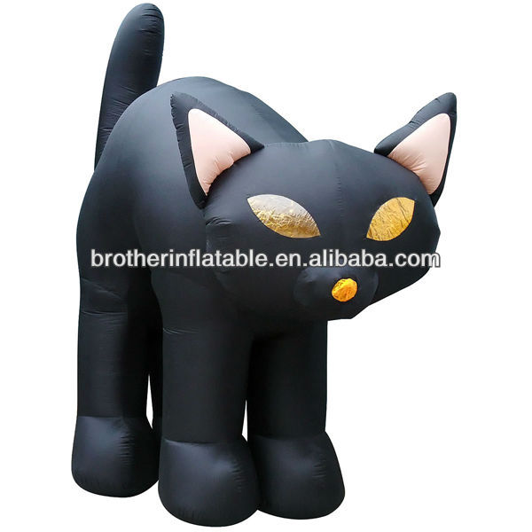 Hot Festival Item Helloween Inflatable Cat Costume
