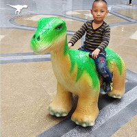 Playground Equipment electric dinosaur ride toy car