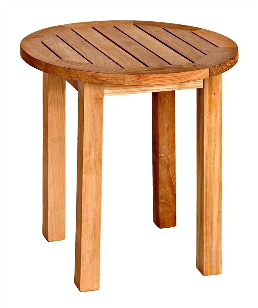 Cheap Round Teak Garden Table Find Round Teak Garden Table Deals On - Teak outdoor end table