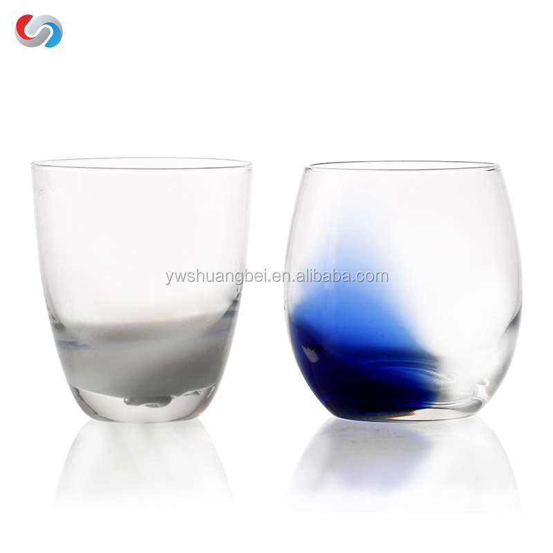 Explosion-proof Household Glass, Pring Colored Beer Glass Juice Glass Cup