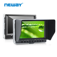 5 inch Silver Black Color Aluminum HD SDI 1080p DSLR Camera LCD Monitor