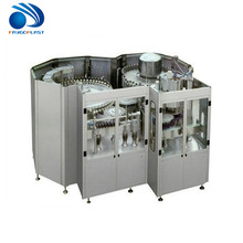 Automatic small drum wine carbonated beverage beer soft drink pure water liquid hot filling machine / production line