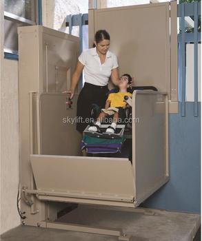 Intérieur Ou Extérieur Handicap Vertical Plate Forme Petit Handicapés  Fauteuil Roulant à La Maison Ascenseur