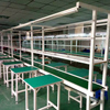 Paint Iron Type Mobile Phone LED Production Assembly Line PCB Chips Conveyor Belt Equipment with Table