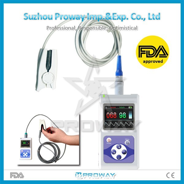 PPO-C60D Widely used Handheld Pulse rate Finger Pulse Oximeter