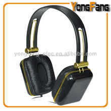 custom design oem color branded pc moblie phone headphones with deep strong bass