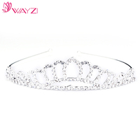 New arrival hotsale cheap hair accessories tiaras for wedding