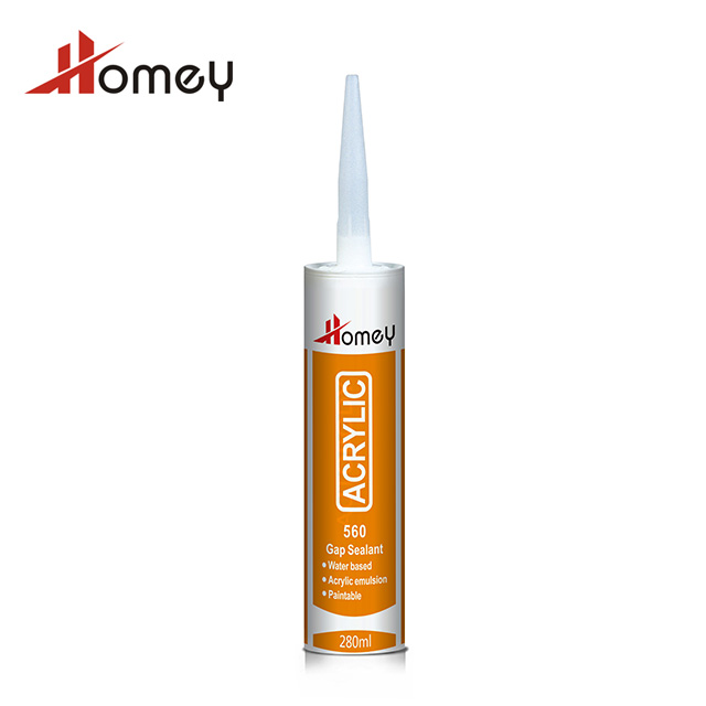 Homey 560 anti-fungus paintable gap filling modified acrylic adhesive