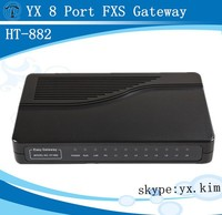 voip gateway 8 channel fxs port/wifi router/compatible with ip pbx/pabx telephone system