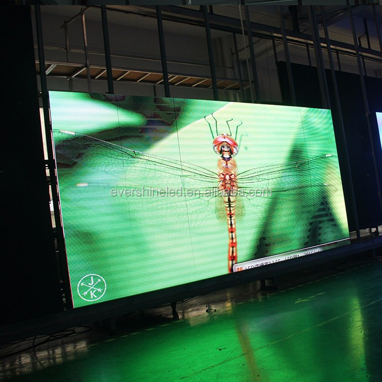 indoor full color video led display screen P4 indoor led Die Casting Aluminum cabinet 512X512mm led video wall