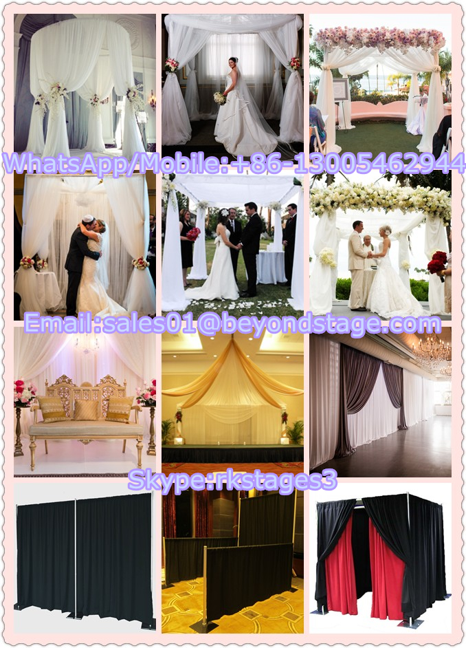Backdrop Pipe And Drape For Weddingcrystal Mandap Fiber Wedding