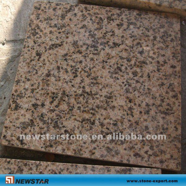 flamed mum yellow granite