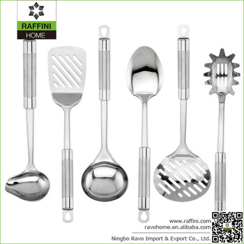 Promotional Durable Stainless Steel Cooking Utensil Sets