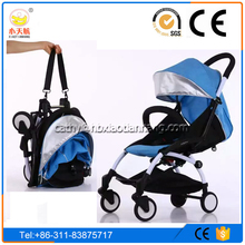 Compact easy to carry; small portable, Mom's good helper multicolor Foldable lightweight pram Aluminum Made Baby Stroller